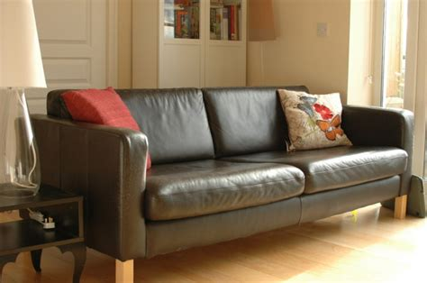 ikea karlstad leather sofa ikea karlstad 3 seater leather sofa for sale in celbridge