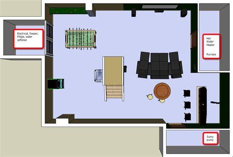 need advice on basement layout layouts and pics inside