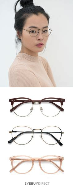 Top Narita Maroon 90s wire glasses quot quot style trendy chic eyewear