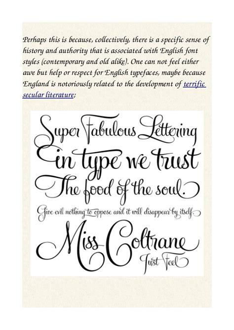 font design converter english font design