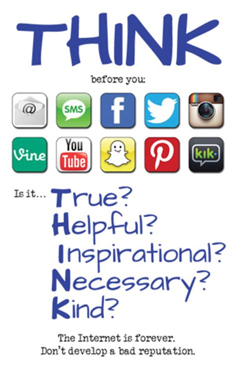 think before you like social media s effect on the brain and the tools you need to navigate your newsfeed books social media think poster mr fortna s