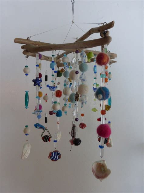 hanging art mobile hanging mobile driftwood ceiling art zen by