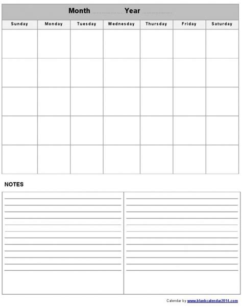 fill in calendar template easy monthly calendar 2016 free calendar template