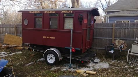 Cabin To Go by How Would You Use This Micro Caboose Cabin
