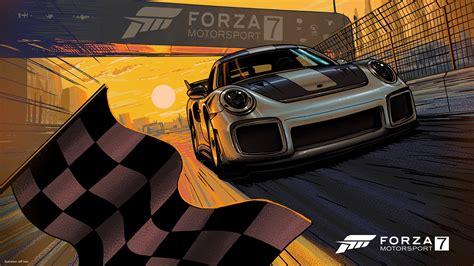 wallpaper forza motorsport  porsche  gt rs hd