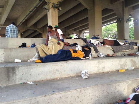 Allen Is Homeless by Among Houston S Homeless Go Beyond
