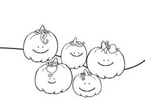 5 Pumpkins Coloring Page pumpkins coloring sheets five pumpkins printable