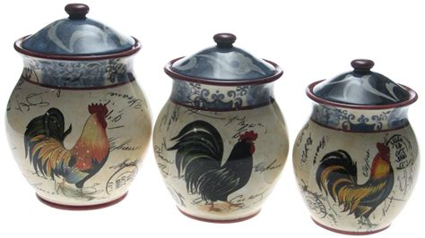country kitchen canister set country kitchen canister sets ceramic inspirations