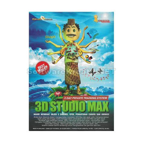 Best Seller Garuda Media Cd Tutorial Photoshop jual tutorial 3d studio max membuat objek 3 dimensi