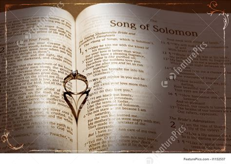 Wedding On Bible by Picture Of Wedding Ring And Bible