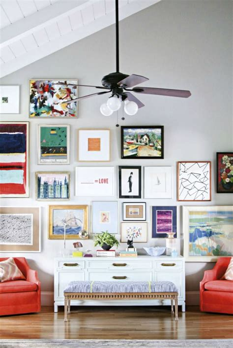 gallery art wall how to create an art gallery wall bright bold and beautiful
