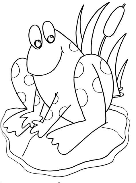 imagenes infantiles para colorear de sapos dibujo colorear ranas