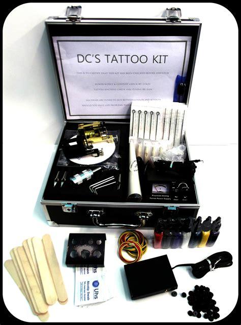 Tattoo Machine Kit Uk | uk 2 gun rotary tattoo machine kit studio apprentice