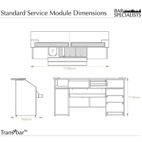 Standard Bar Top Dimensions by Transbar Overview Events Mobile Bar Design Sale Hire