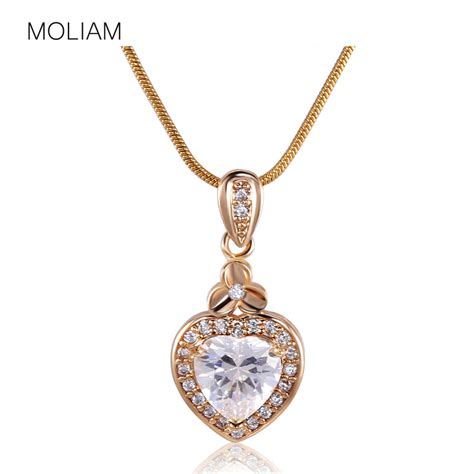moliam brand fashion jewelry necklace lovely