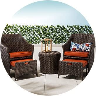 Small Space Patio Furniture Sets; Small Space Outdoor