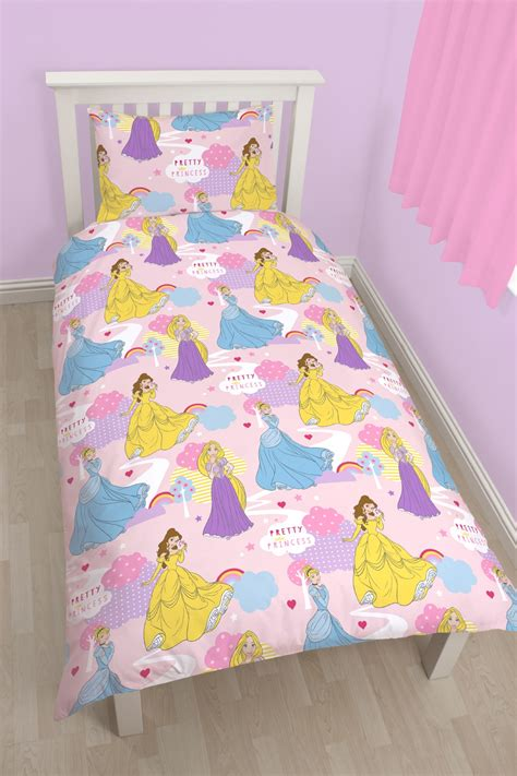 Disney Princess Quilt Cover by New Disney Princess Enchanting Single Duvet Quilt Cover