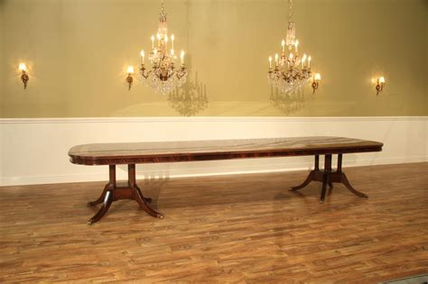 large formal mahogany dining table for traditional