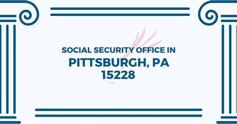 social security office in pittsburgh pennsylvania 15228