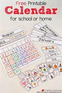 free printable preschool calendar numbers 1000 images