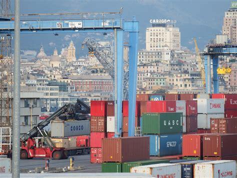 arrivi porto di genova porto di genova avvio nuovo sistema di pesatura dei