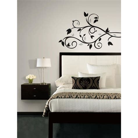 Peel And Stick Wall Decals | foil tree branch peel and stick wall decal