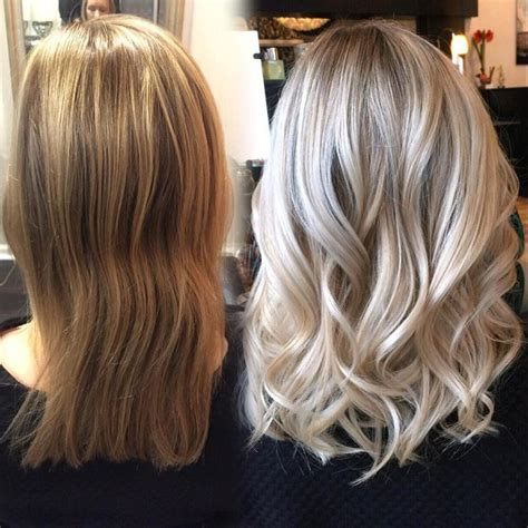 light brown to blonde tranformations love this transformation from brassy to bright baby