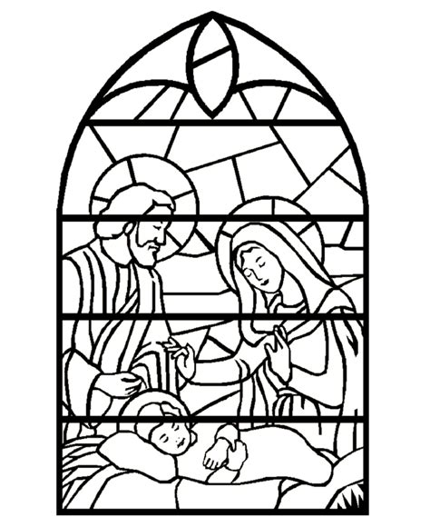 coloring pages christmas stained glass stained glass window coloring pages az coloring pages