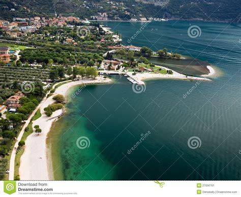 boat dealers near high rock lake garda lake resort in italy stock photography