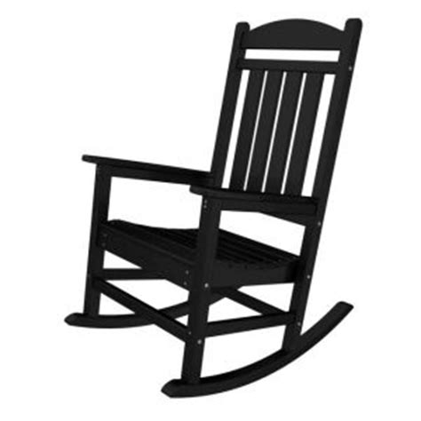 Black And White Rocking Chair by Black Rocking Chair