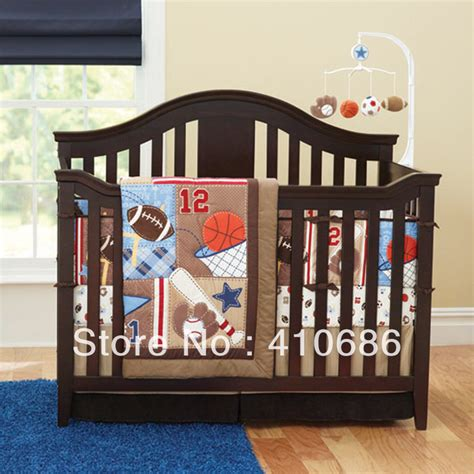 Baby Boy Sports Crib Bedding Sets by Baseball Quilt Bedding Promotion Shopping For