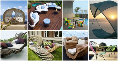 20 Unique Outdoor Furniture Ideas That Will Make You Say Wow Unique Patio Furniture Ideas