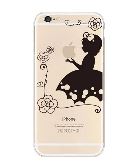 slim pattern clear transparent tpu soft cover