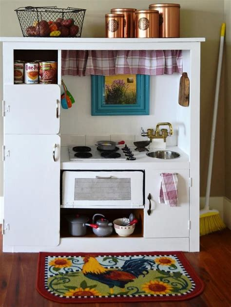 Turn Entertainment Center Into Play Kitchen by How To Turn An Entertainment Center Into A Play Kitchen