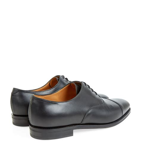 lobb oxford shoes lobb city ii oxford shoe in black for lyst