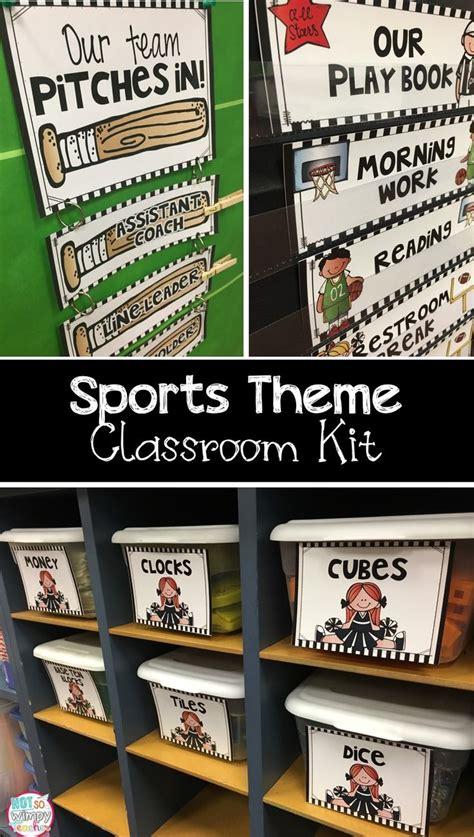 top 25 best sports theme classroom ideas on