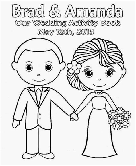 wedding coloring pages free printable wedding coloring book