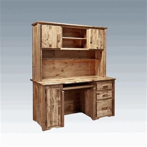 Pine Desk Hutch by Amish Quot Homestead Quot Pine Desk Hutch