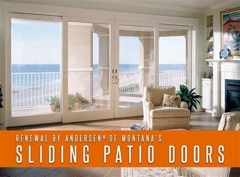 andersen perma shield lh gliding patio door lowe4 glass renewal by andersen 174 of montana s sliding patio doors