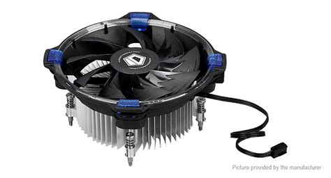 Id Cooling Dk 03 Intel Blue Led Cpu Cooler 16 16 id cooling dk 03 halo intel cpu air cooler cooling fan 1600rpm low noise w blue