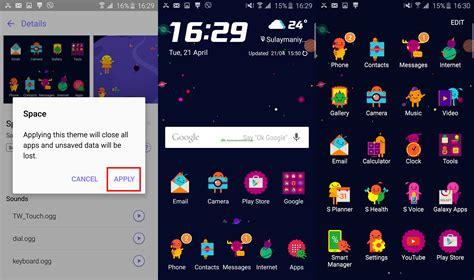 changing themes on s6 top 33 galaxy s6 galaxy s6 edge tips and tricks howto