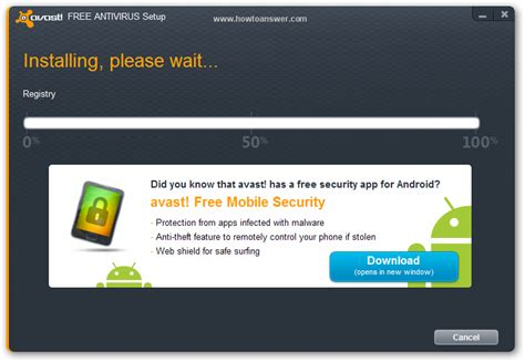 Instal Anti Virus how to install avast free antivirus
