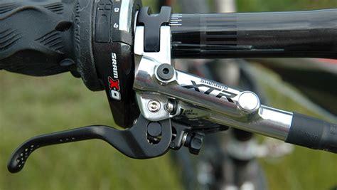 brzdy shimano xtr trail â prst na spouå ti bike