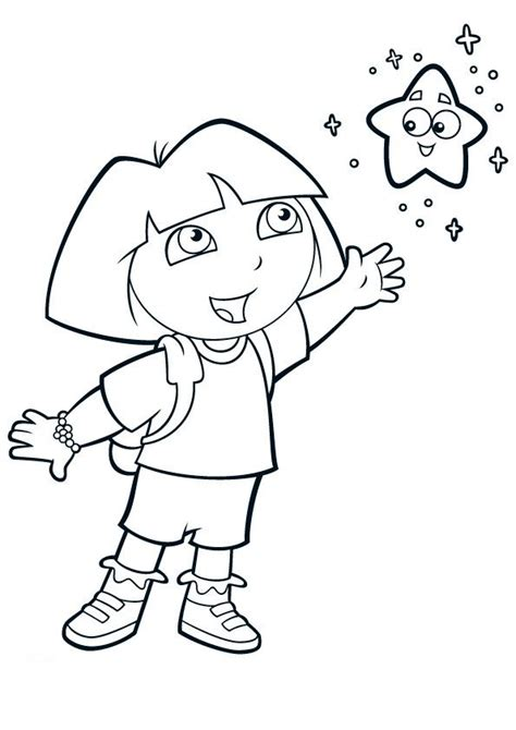 dora and friends coloring pages games dora coloring pages 5