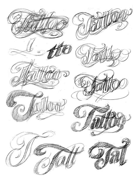tattoo font hand lettering the art of hand lettering the tattoo logo
