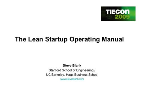 lean mobile app development apply lean startup methodologies to develop successful ios and android apps books lean startup operating manual customer development at work
