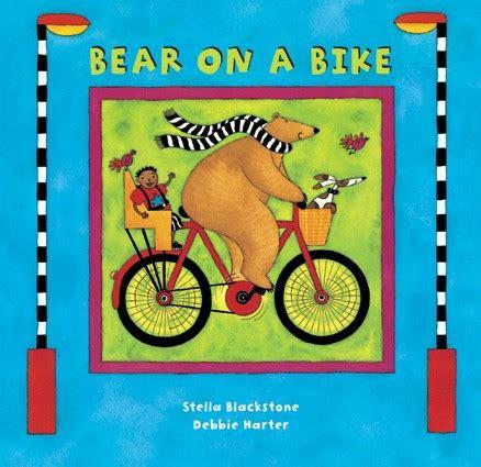 bear on a bike bear on a bike