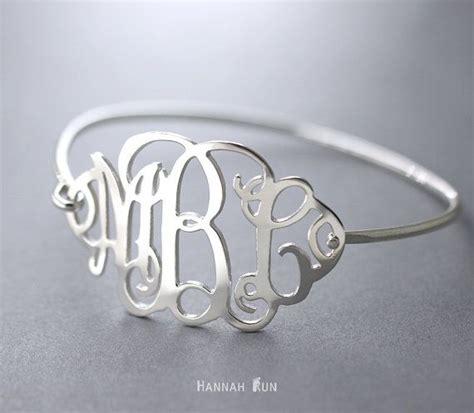 1000 ideas about monogram bracelet on