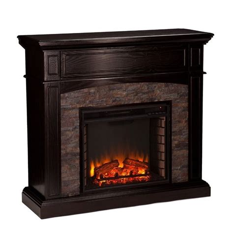 southern enterprises grantham electric media fireplace in