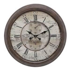 Stylish Living Room Clocks Metal Wall Clock Large Vintage Rustic Stylish For Living